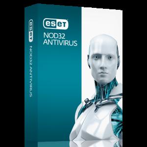 Антивирусна програма ESET NOD32 Antivirus - 2 раб. ст. 1-год. лиценз
