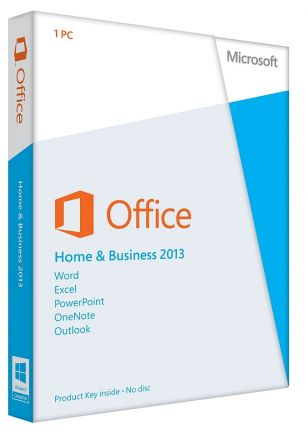 Office Home and Business 2013 32-bit/x64 English Eurozone Medialess